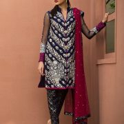 Zainab Chottani navy-blue-floral-dress original pic