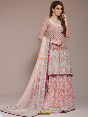 Zainab Chottani coral-pink-bridal