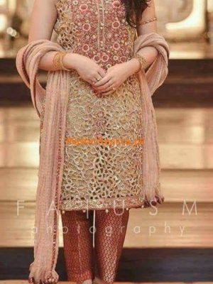 Irfan Hassan Embroidered Chiffon Replica