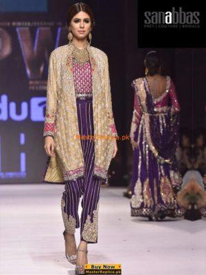 Sana Abbas Latest Bridal Collection 2017 Replica
