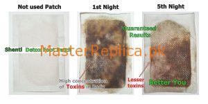 Shenti Detox Patch Results