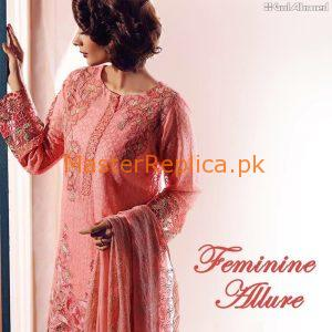 Gul Ahmed Embroidered Lawn Collection 2017 Replica