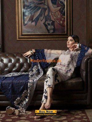 Erum Khan Lawn EM361 Anarkal Collection Replica