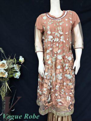 Vogue Robe Festive Collection - Gold Leaf