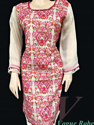 Vogue Robe Festive Collection - Pink Royale