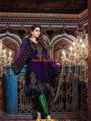 Maria B. BD 06 Embroidered Eid Collection Replica