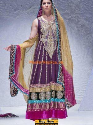 Zainab Chottani D3534 Anarkali Style Shalwar Kameez Replica