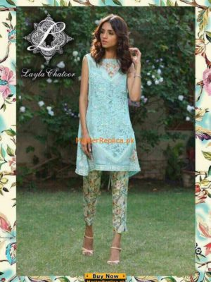 Layla Chatoor Chiffon Collection 2017 Replica