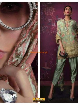 Sana Safinaz Luxury Chiffon Collection 2017 Replica