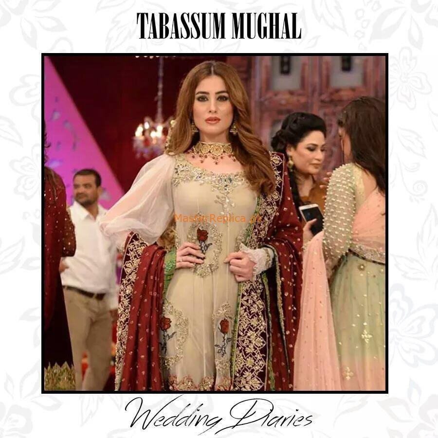 Tabassum Mughal Bridal Collection 2017 Replica