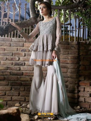 Zainab Chottani Creme jardin 2017 Collection Replica