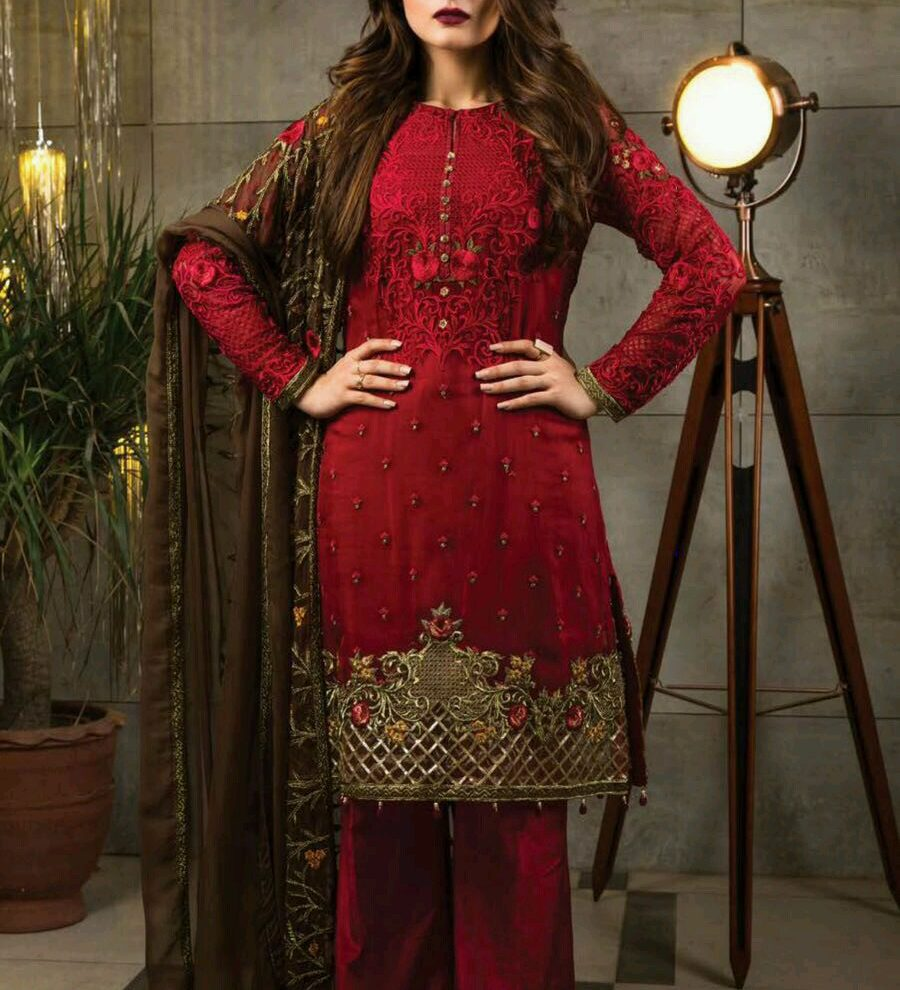 SERENE EMBROIDERED COLLECTION 2017 REPLICA