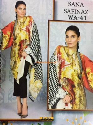 Sana Safinaz Linen Collection Replica
