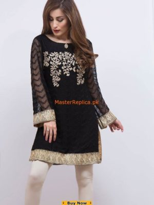 Maria B. Embroidered Chiffon Collection