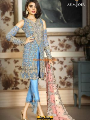 Asim Jofa Festive Embroidered Collection Replica
