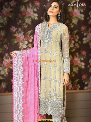 Asim Jofa AJC-1B Embroidered Collection Replica