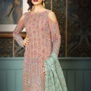 Asim Jofa AJC-2A Mysorie Chiffon Collection-17 Replica