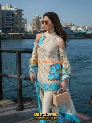 Ayesha Ibrahim Embroidered Chiffon Collection Replica
