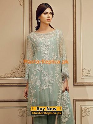 Baroque Anarkali Suit Collection Replica