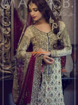 Maria B.Bridal Embroidered Collection Replica