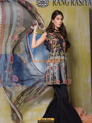 Rangrasiya Luxury Khaddar Collection Replica