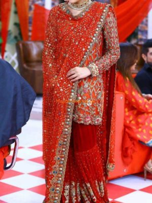 Sanam Baloch worn Bridal Collection 2017 Replica