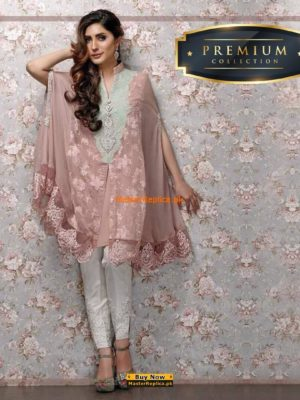 Zainab Chottani Embroidered Chiffon Collection Replica