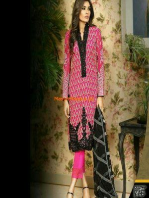 Asim Jofa AJC-4B Mysorie Chiffon Collection Replica