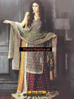 Faraz Manan Latest Bridal Collection Replica