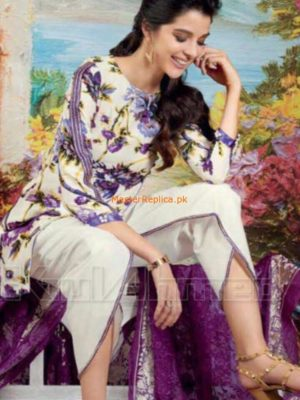 Gul Ahmed Luxury Silk Collection Replica