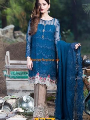 Imrozia Embroidered Chiffon Collection 2017 Replica