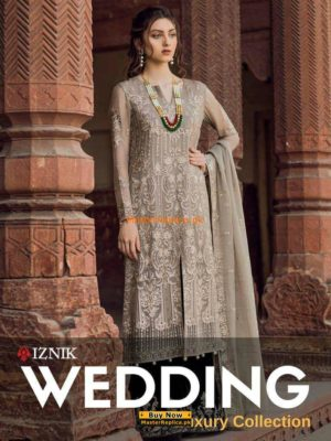 Iznik Luxury Embroidered Wedding Collection Replica
