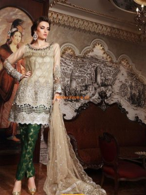 Maria B Embroidered Wedding Edition Collection Replica
