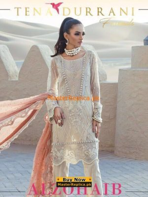 Tena Durrani Formal Chiffon Collection 2017 Replica