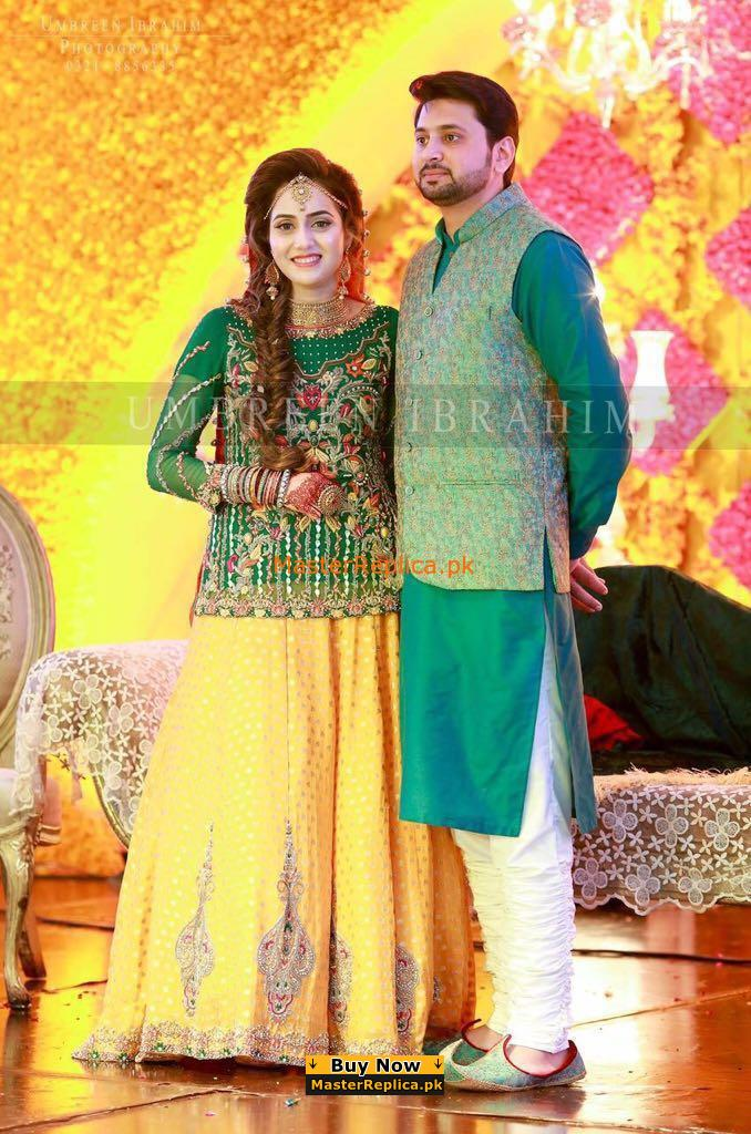 Umbreen Ibrahim Embroidered Wedding Collection Replica