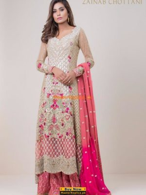 Zainab Chottani Latest Bridal Collection Replica
