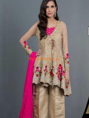 Zainab Chottani Latest Chiffon Collection 2017 Replica