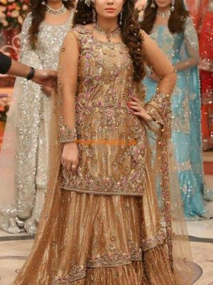 Kasheez Luxury Embroidered Bridal Collection Replica