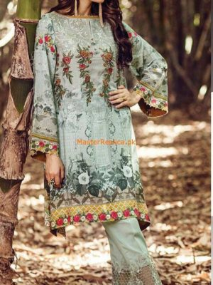 Baroque Latest Printed Cotton Designer Collection Replica