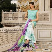 Rungrez Luxury Embroidered Silk Collection Replica