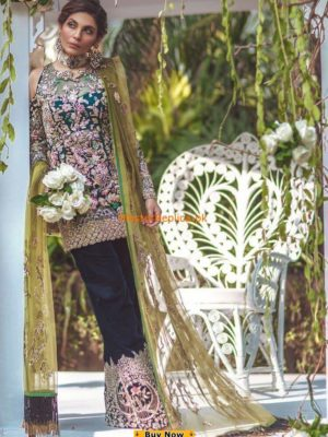 Elan Latest Embroidered Organza Bridal Collection