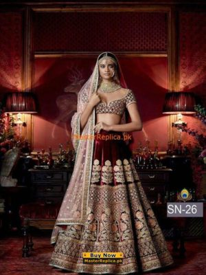 Indian Luxury Silk Bridal Maxi Collection 2017 Replica