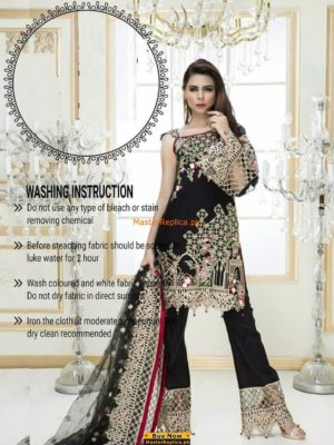 Kanaveez Latest Embroidered Chiffon Collection Replica