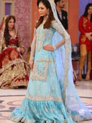 Kasheez Luxury Embroidered Bridal Collection 2017 Replica