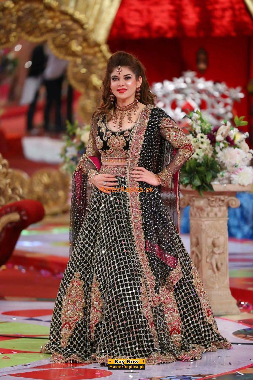 Kasheez Latest Embroidered Velvet Bridal Collection Replica