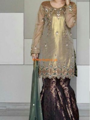Maliha Kamal Latest Embroidered Designer Collection Replica