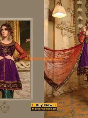 Maria B. Latest Velvet Embroidered Collection Replica