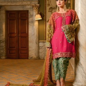 Maria B. Luxury Embroidered Chiffon Collection Replica