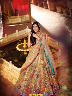 Nomi Ansari Luxury Embroidered Party Wear Collection Replica
