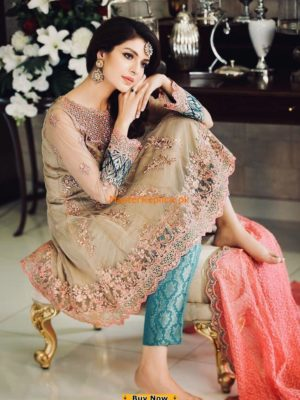 Ombre Latest Embroidered Designer Collection Replica